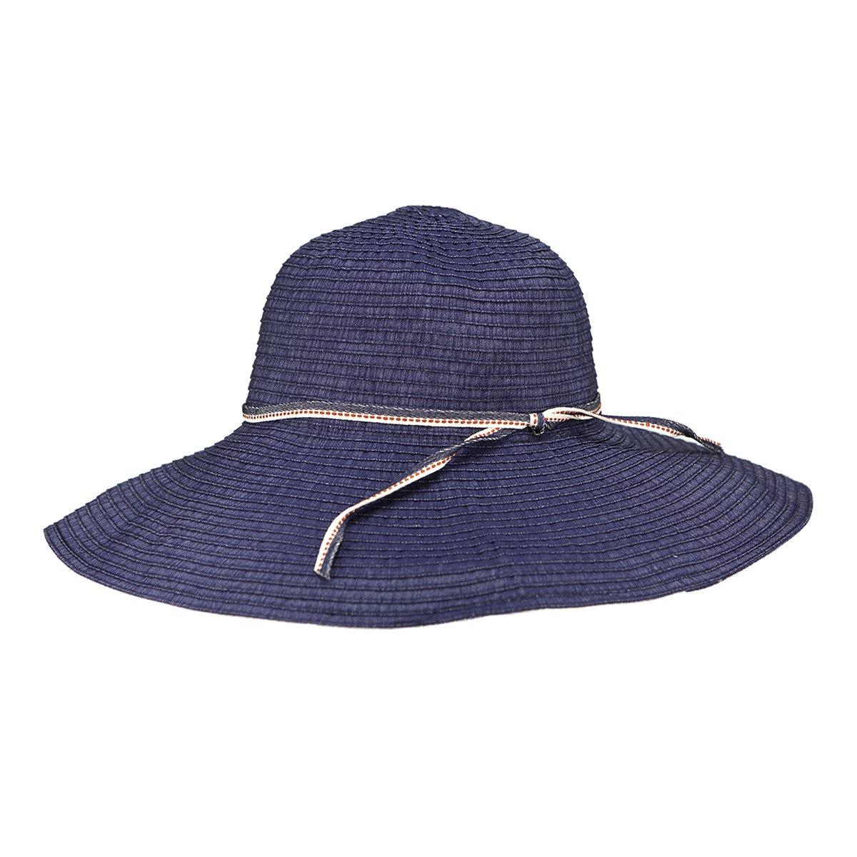 Peter Grimm Womens Janet Resort Sun Hat - Navy