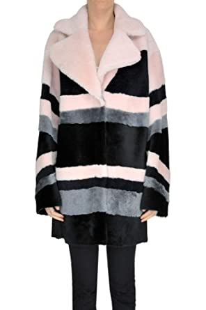 B&W EZGL159003 Mujer Cuero Abrigo