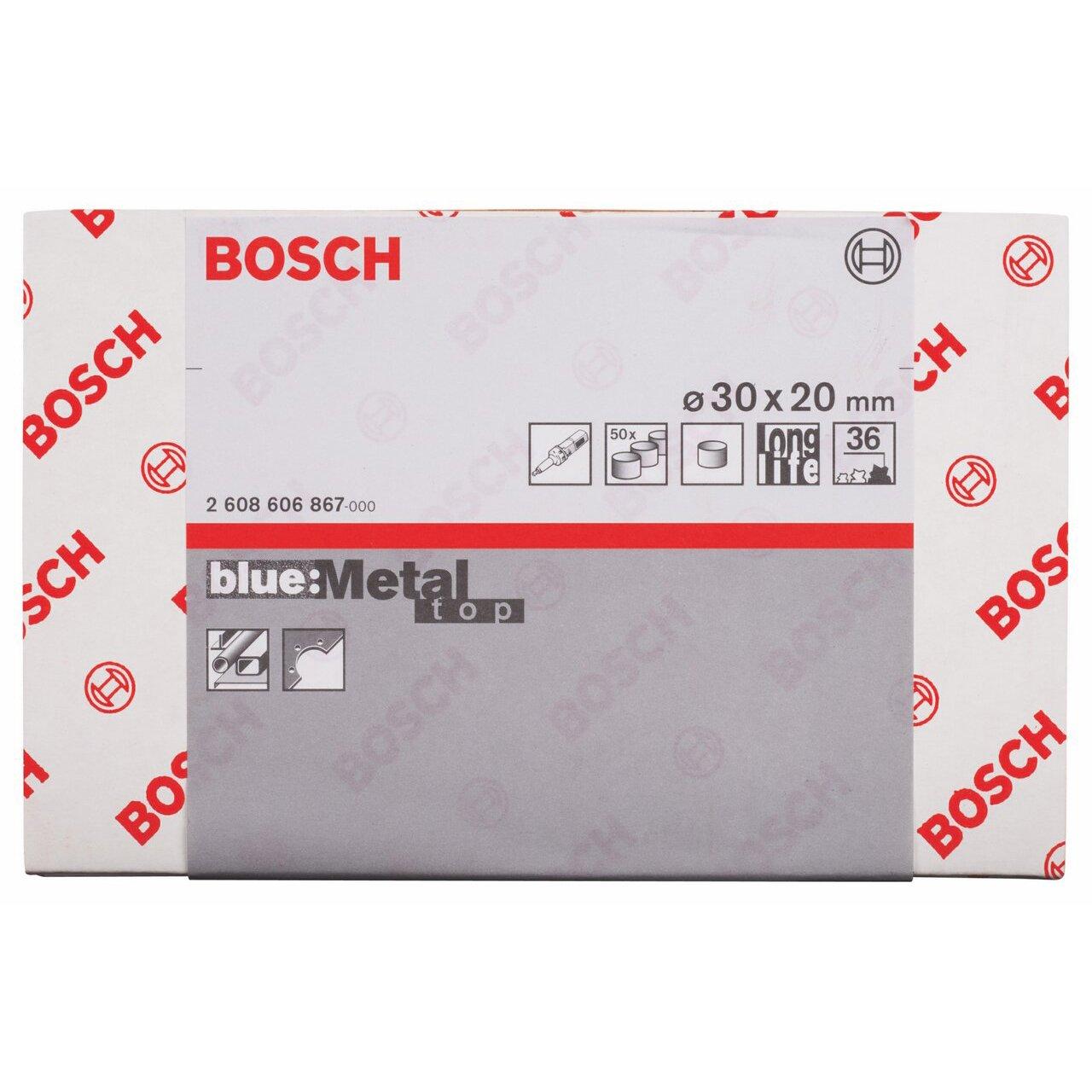 Bosch 2608606867 Manchon abrasif 36 /Ø30 x 20 mm 50 pi/èces
