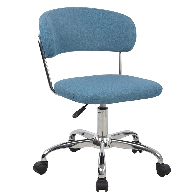 Amazon Porthos Home Taylor Adjustable fice Chair Blue