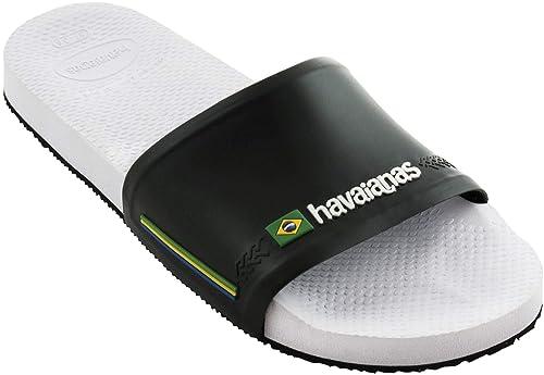 e0680f0af Havaianas Unisex Adults  Slide Brasil  Amazon.co.uk  Shoes   Bags