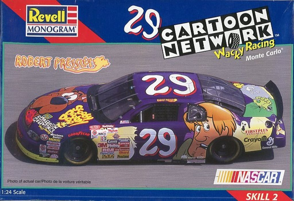 Revellモノグラム1 : 24 # 29 Cartoon Network Monte Carlo Nascarキット# 85 – 2484 B01MSYIWGE