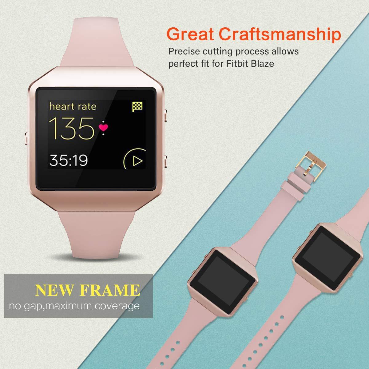 Amazon.com: YiJYi - Correa fina compatible con Fitbit Blaze ...