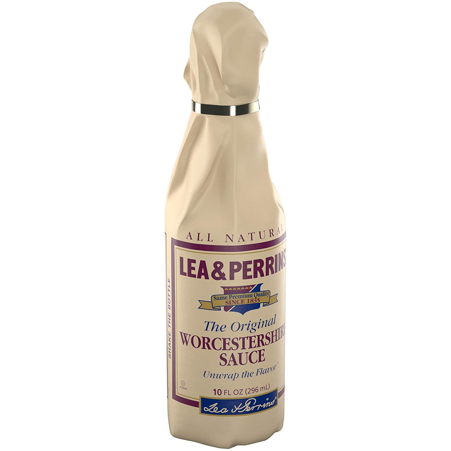 is lea and perrins worcestershire sauce gluten free