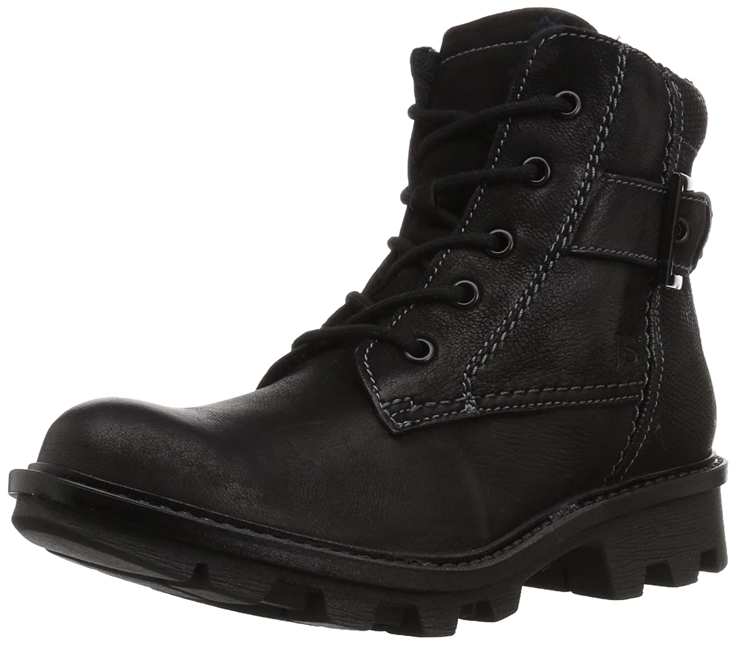 Josef Seibel Women's Marylin 03 Combat Boot B072PCRSZ1 37 EU/6-6.5 M US|Black
