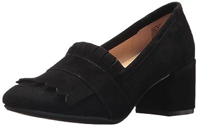 Kenneth Cole REACTION Women's Michelle Kilty Toe Block Heeled Dress Pump,  Black, 5 Medium