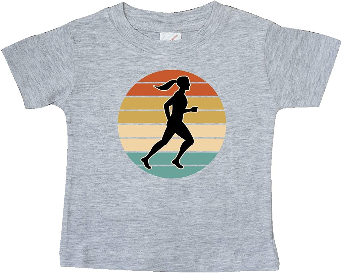 inktastic Running Gift Female Runner Baby T-Shirt