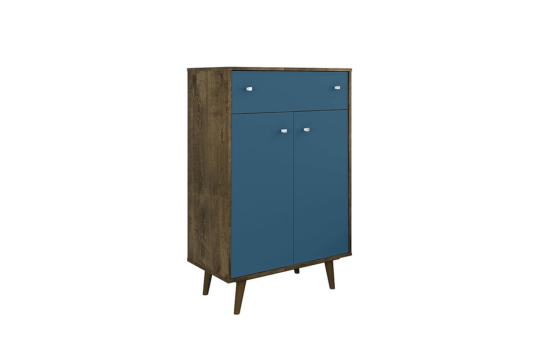Amazon.com: Manhattan Comfort 211BMC93 Liberty Storage Cabinet ...