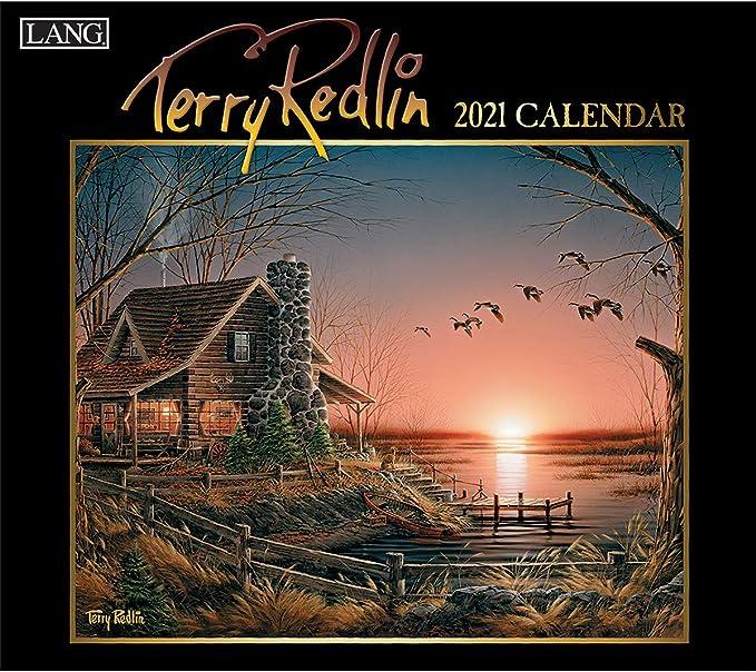 Lang Terry Redlin 2020 Wall Calendar Elegant Linen-embossed Paper Stock