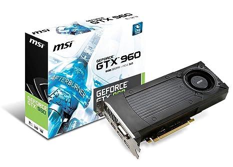 MSI GTX 960 2GD5 NVIDIA GeForce GTX 960 2GB - Tarjeta gráfica ...