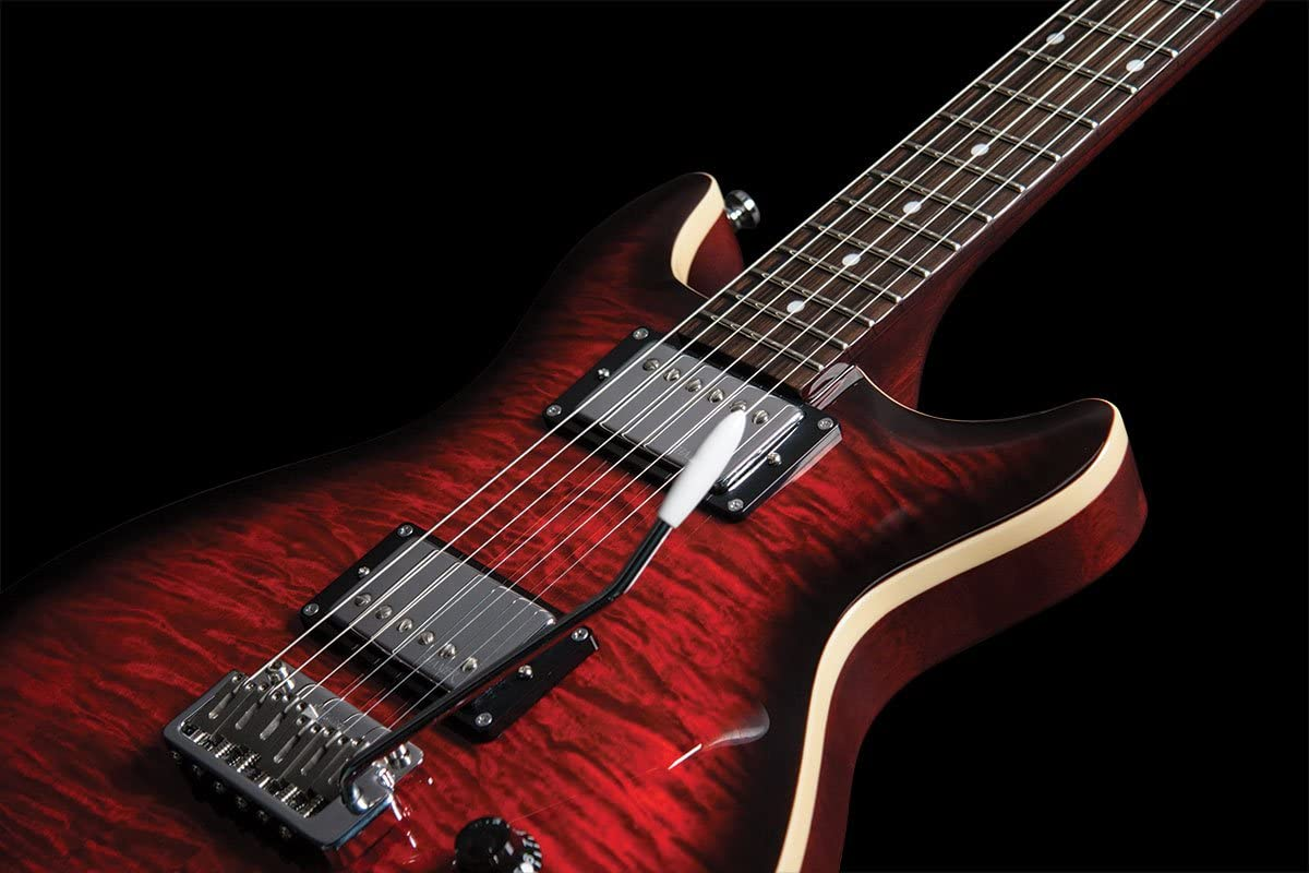 Hamer - Guitarra eléctrica de 6 cuerdas (SATFW-DCB-D): Amazon.es ...