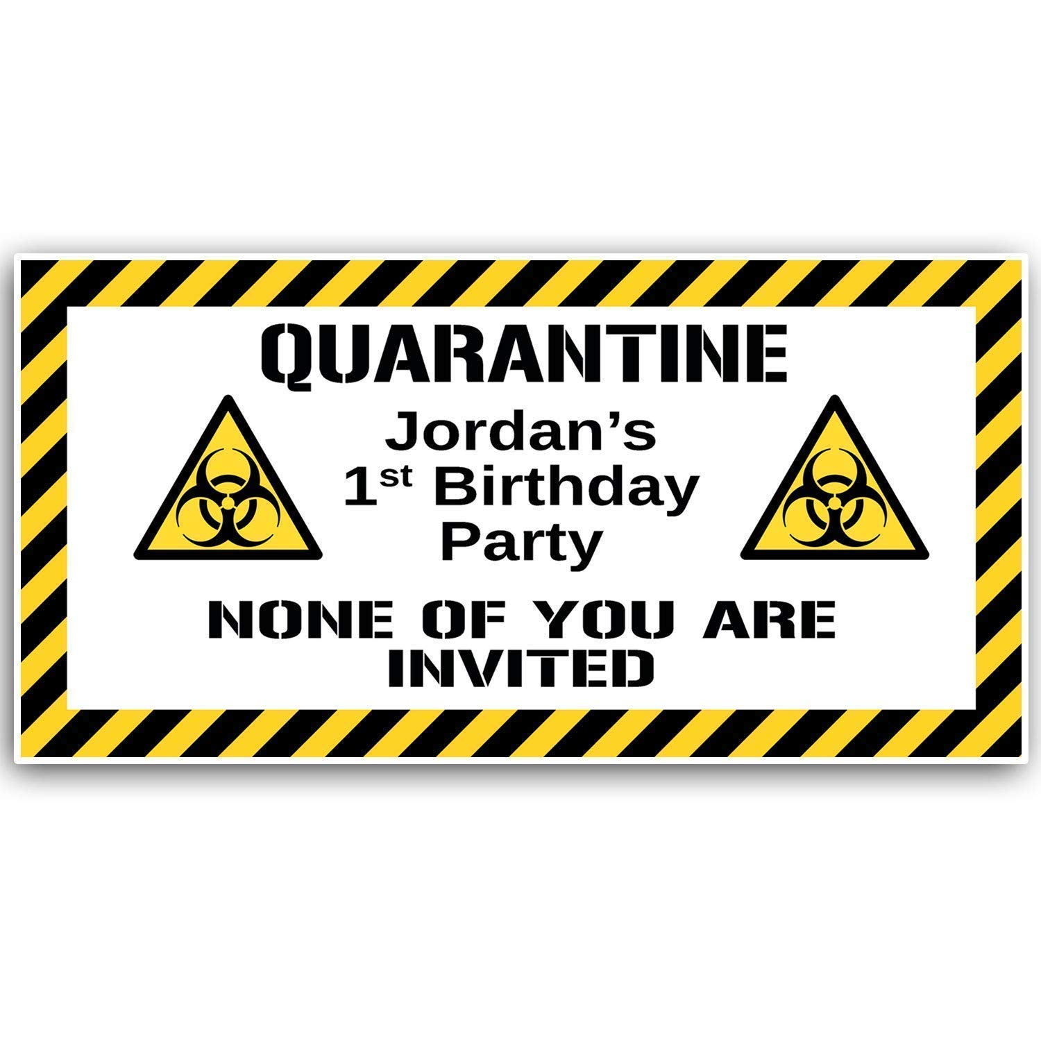 It's just a photo of Quarantine Sign Printable for toxic waste