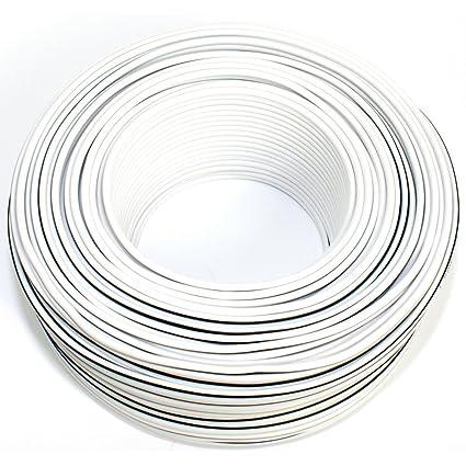 Seki 311766 Speaker Cable 2x 1 5 Mm 50 M Redblack Amazon Co Uk
