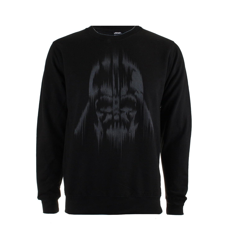 TALLA L. STAR WARS Vader Lines, Sudadera para Hombre