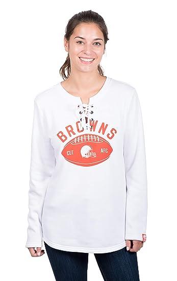 466d9dd7 Amazon.com : Icer Brands NFL Cleveland Browns Women's Fleece ...