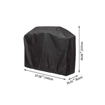 Amazon.com: Cubierta protectora para parrilla de jardín ...