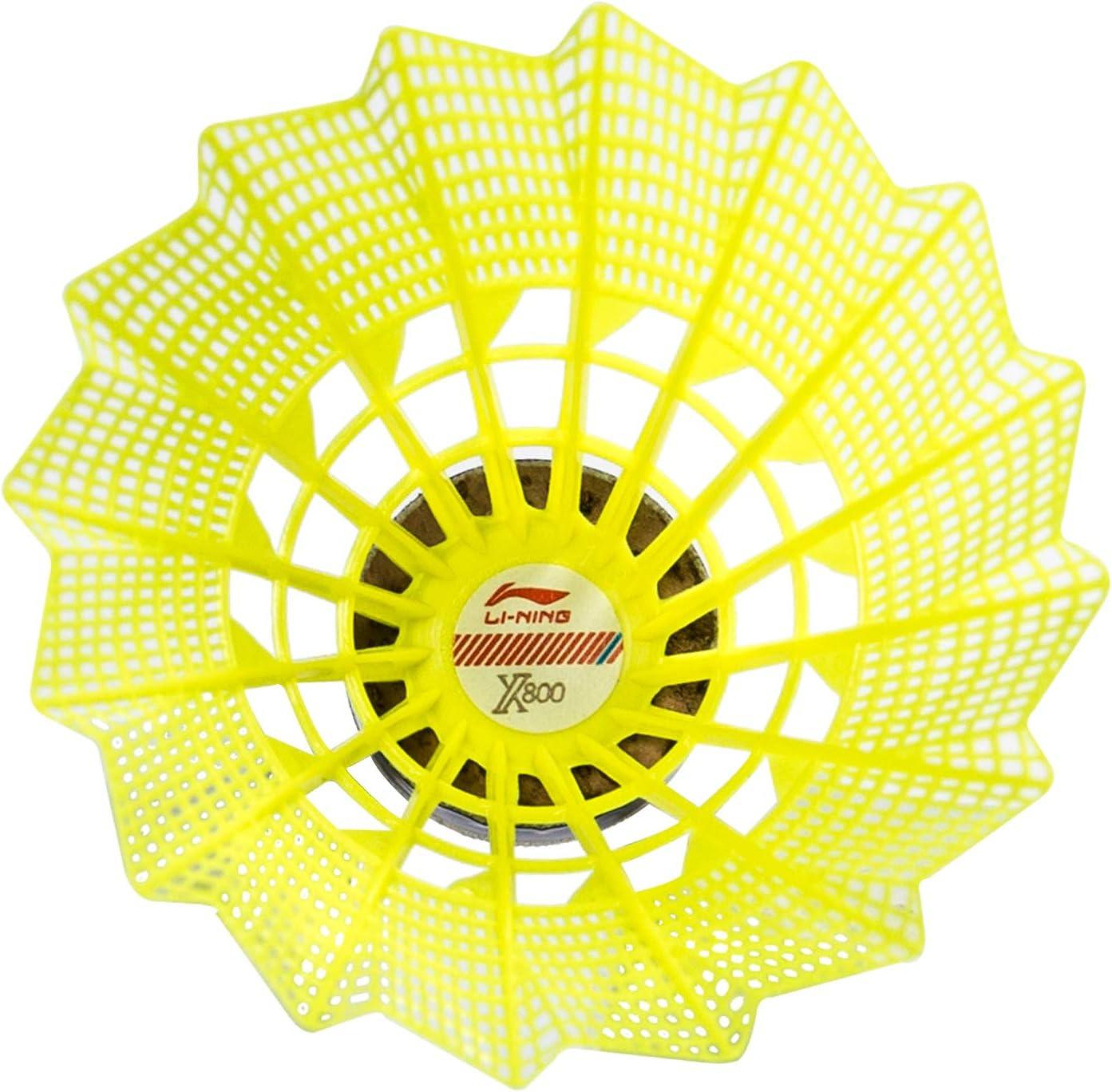 Single Tube Badminton Birdie//Shuttlecock X800 Slow Speed