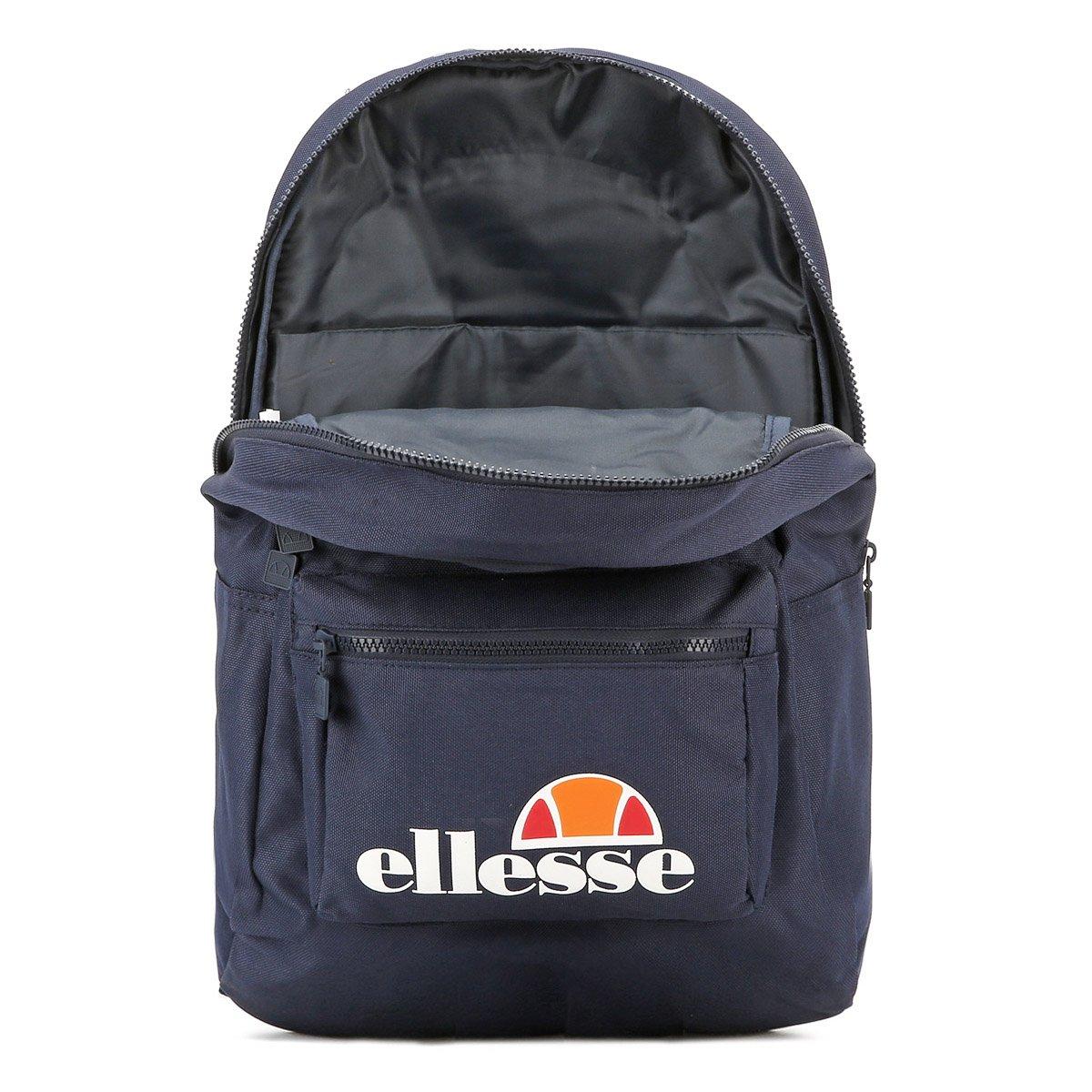 ELLESSE Fabia Backpack Navy School Bag SHAU0283 - ELLESSE Bags  Amazon.co.uk   Luggage d505fc34f4de9