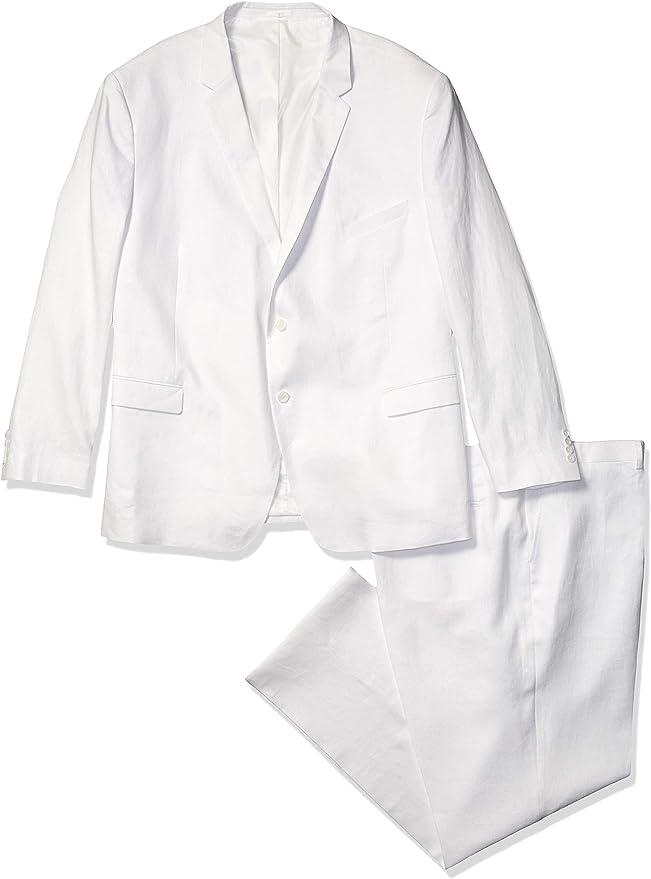 U.S Polo Assn Mens Linen Nested Suit Suit Pants Set