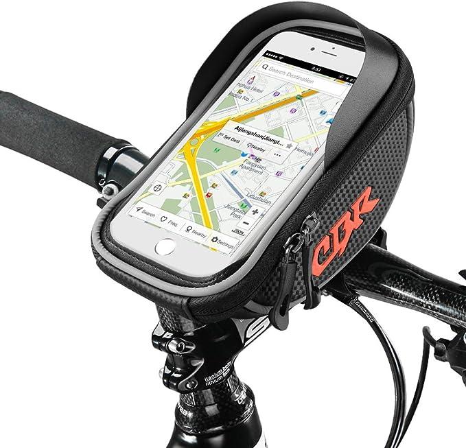 √Fahrradtasche Rahmentasche Handy Oberrohrtasche Smartphone Wasserdicht Bike Bag