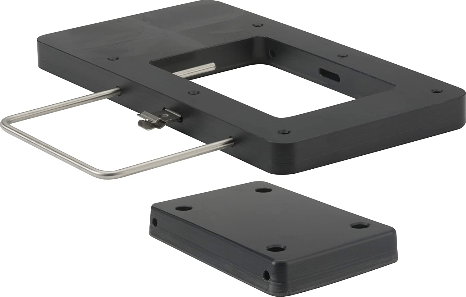 attwood 8M0120717 Xi Series Quick-Release Bracket Kit for Electric Trolling Motors - Black