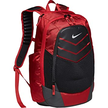 Nike Vapor Power Backpack Backpack University Red Black Metallic Silver One  Size  Amazon.co.uk  Computers   Accessories 58be3a61b