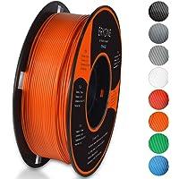 PLA Filament 1.75mm, ERYONE Filament PLA 1.75mm, 3D Printing Filament PLA for 3D printer, 1kg 1 Spool, Orange