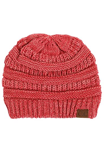 546396c7d2a ScarvesMe CC Beanie Mix Color Two Tone Hat (10) at Amazon Women s ...