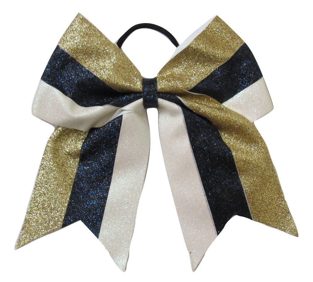 Work For It Bow Girls Hair Bow Cheer Dance Cheerleading Gymnastics