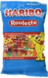 HARIBO Roulette fruit flavour sweets, 25g roll sweets