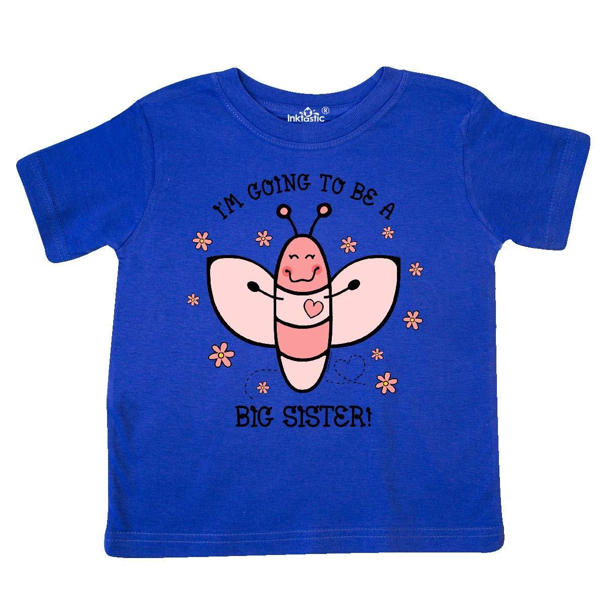 inktastic Love Bug Future Big Sister Toddler T-Shirt
