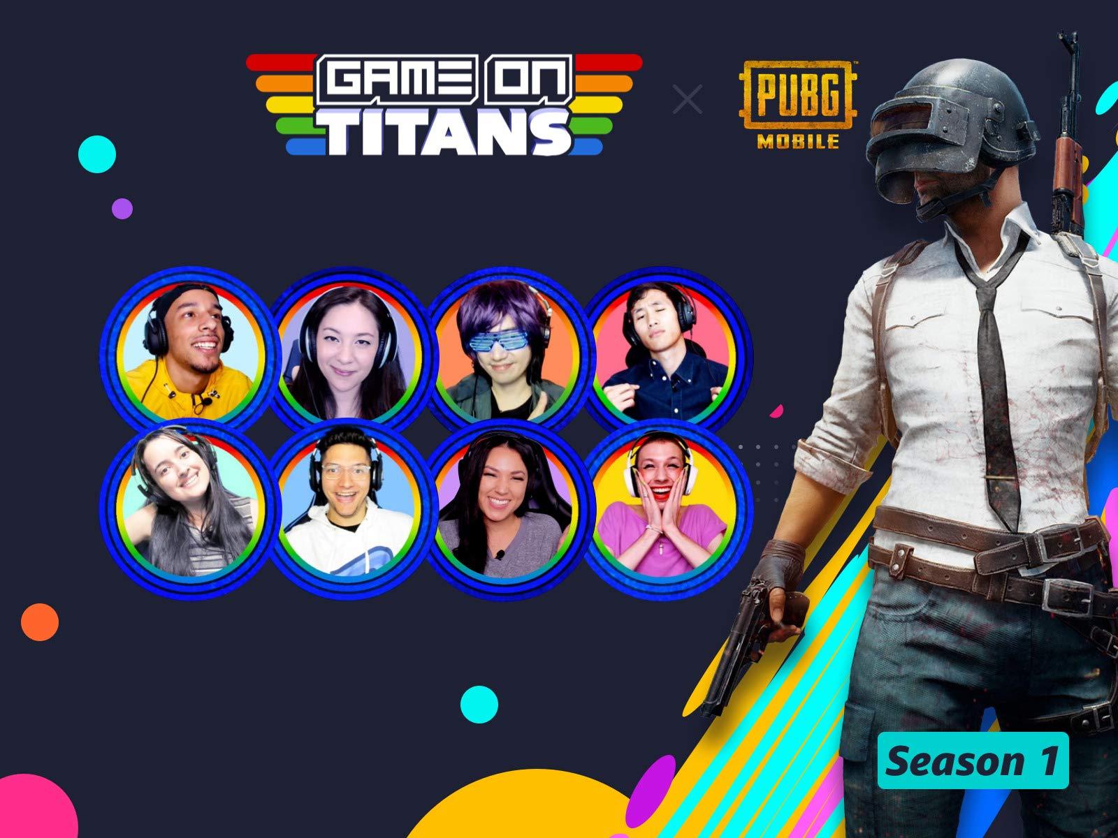GameOn Titans on Amazon Prime Video UK