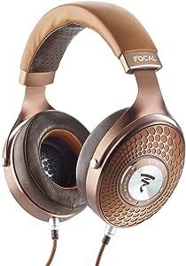 Focal Stellia Closed-Back Circum-Aural Over-Ear Headphones (Cognac) + Arche DAC