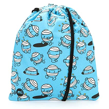 Mi-Pac Kit Bag Mr Bump Sac à cordon, 47 cm, (Blue)