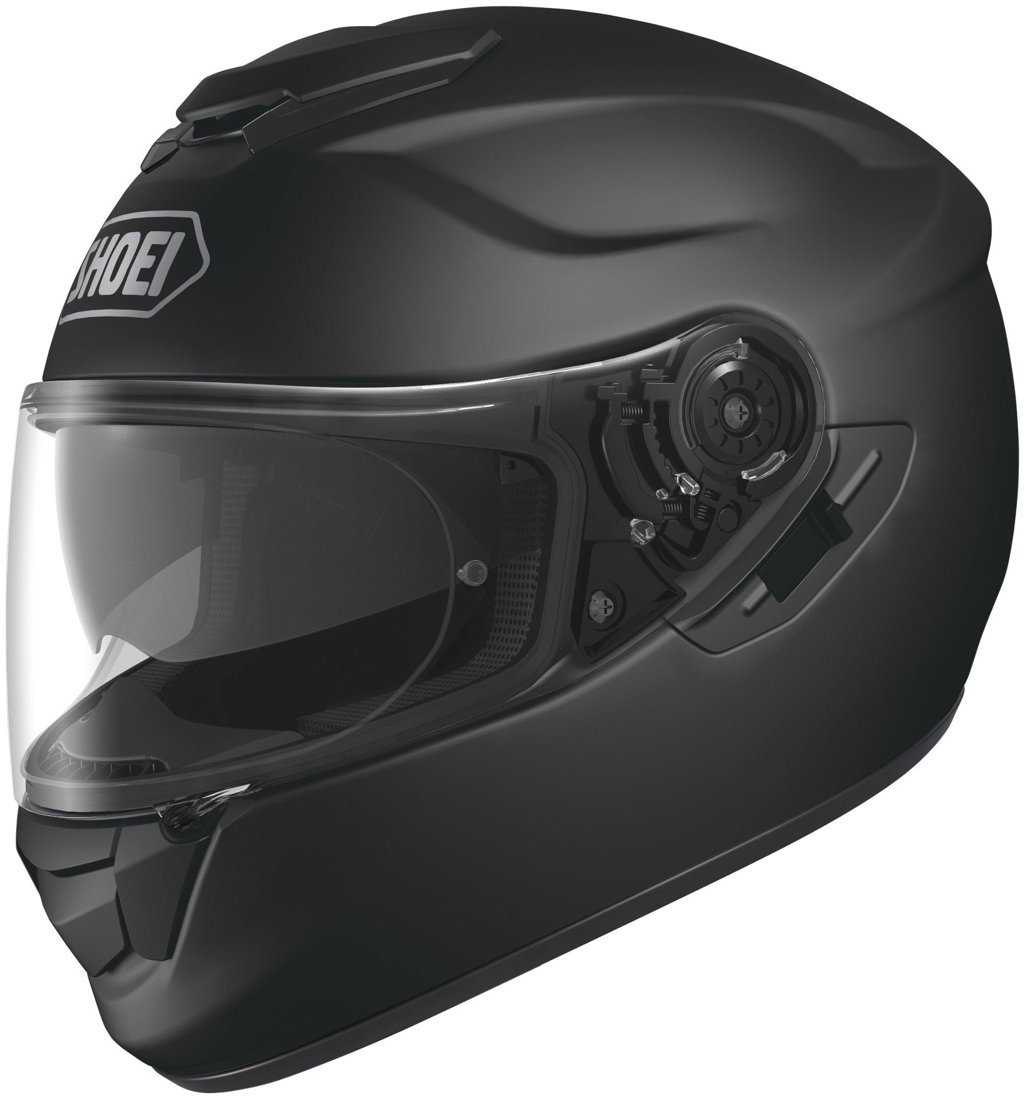 Shoei GT-Air Matte Black Full Face Helmet - Large by Shoei