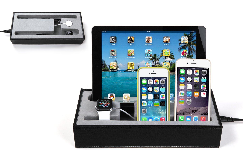 Hapurs Apple Watch Charging Stand Cradle Holder & Iphone iPad ...