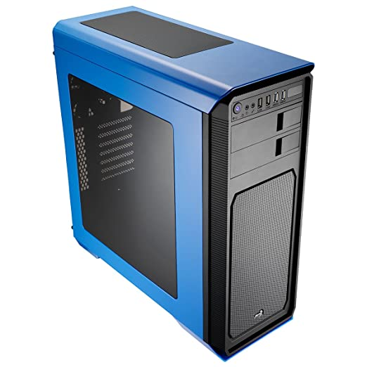 182 opinioni per Aerocool Aero-800 Gaming Case per PC con finestra- Blue