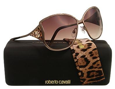 Amazon.com: Roberto Cavalli rc671s metal de la mujer ...