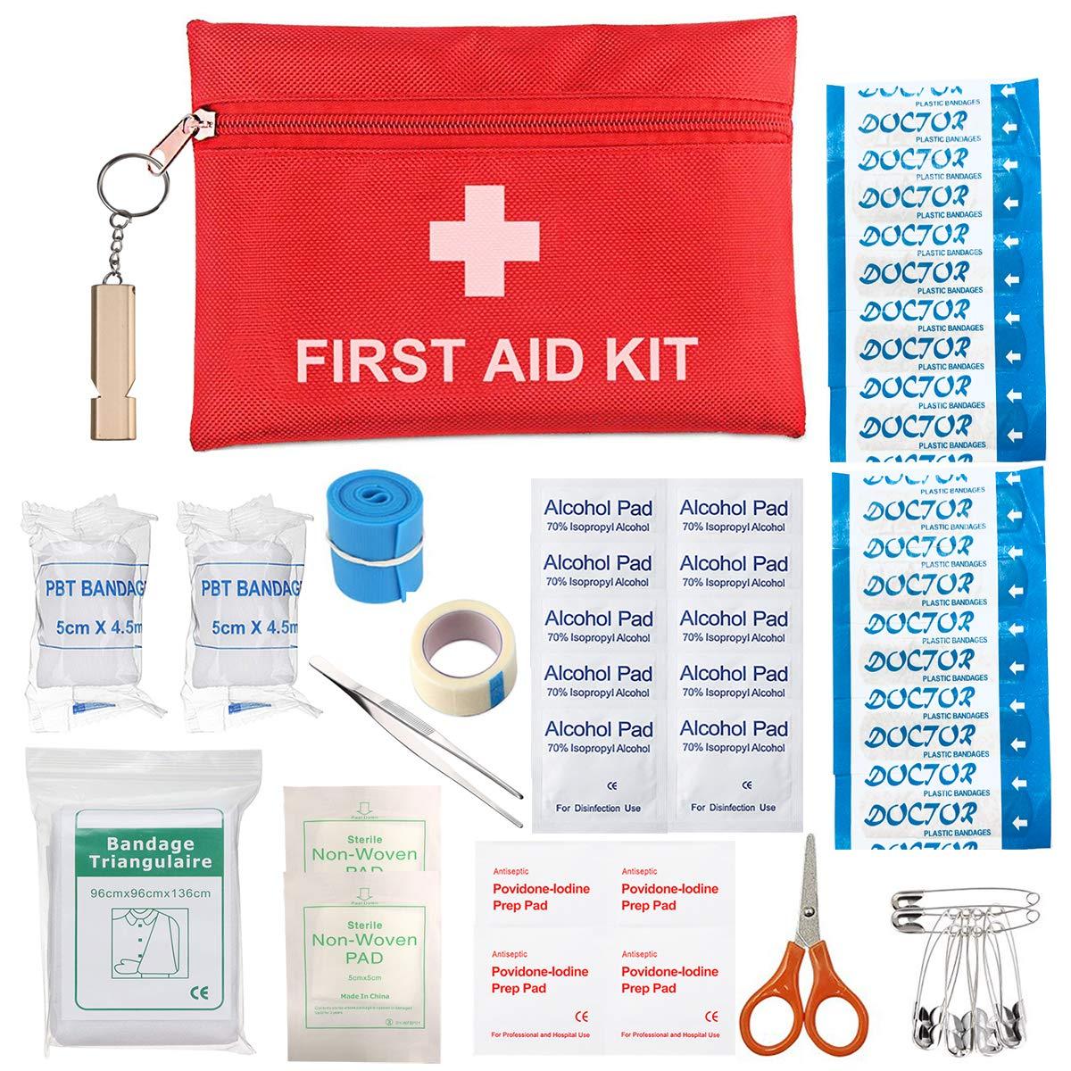 voll ausgestatte Erste Hilfe Tasche