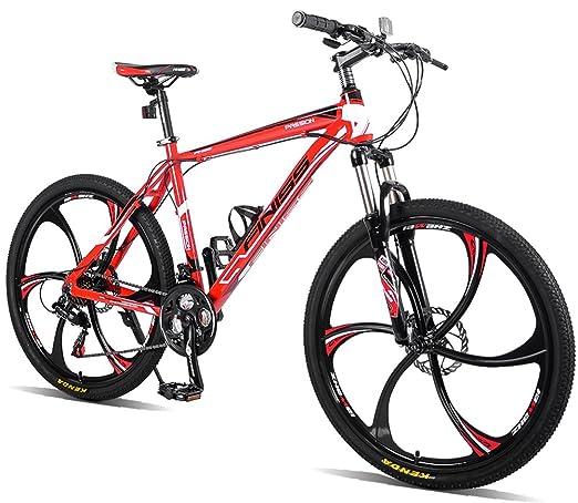 "Review Merax Finiss 26"" Aluminum 21 Speed Mg Alloy Wheel Mountain Bike"