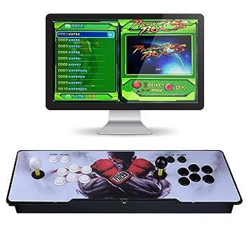 Video Game Console, Arcade Machine 1299 Classic Games, 2 Players Pandora's  box 5S multiplayer home Arcade Console 1299 Games All in 1 NON-JAMMA PCB