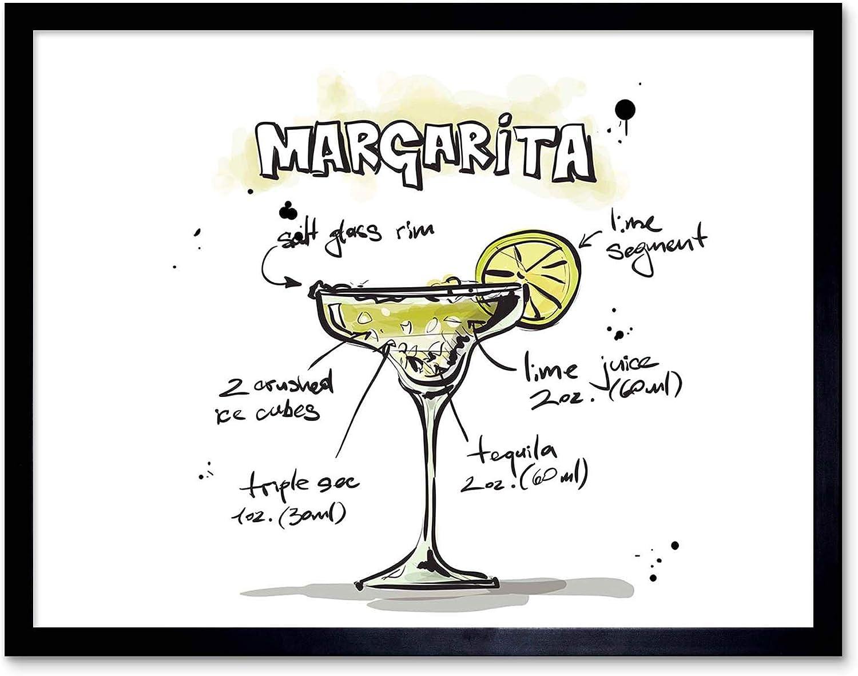Margarita Canvas Wall Art Print Cocktail Home Decor