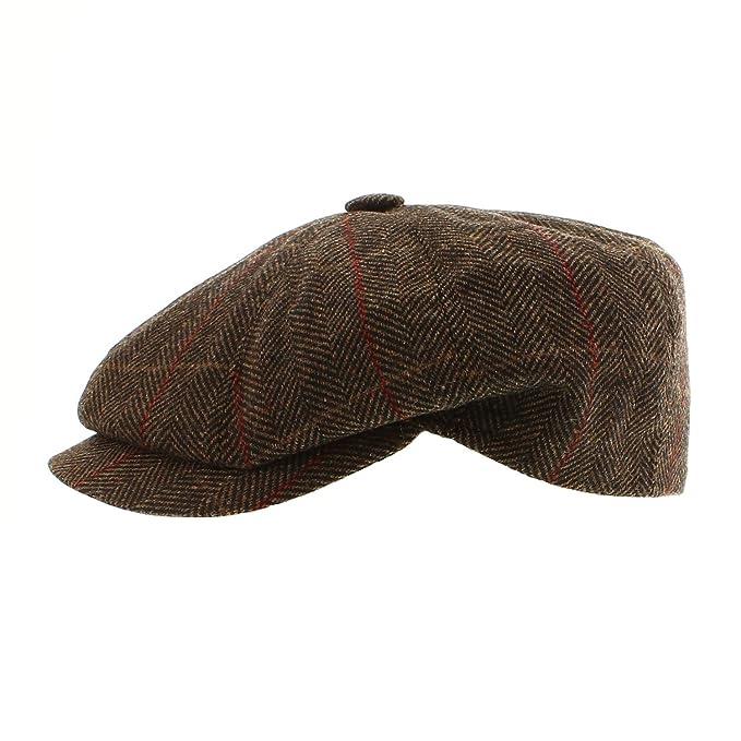 Votrechapeau-Gorra con 8 lados-Concord-lana, color marrón: Amazon.es: Ropa y accesorios