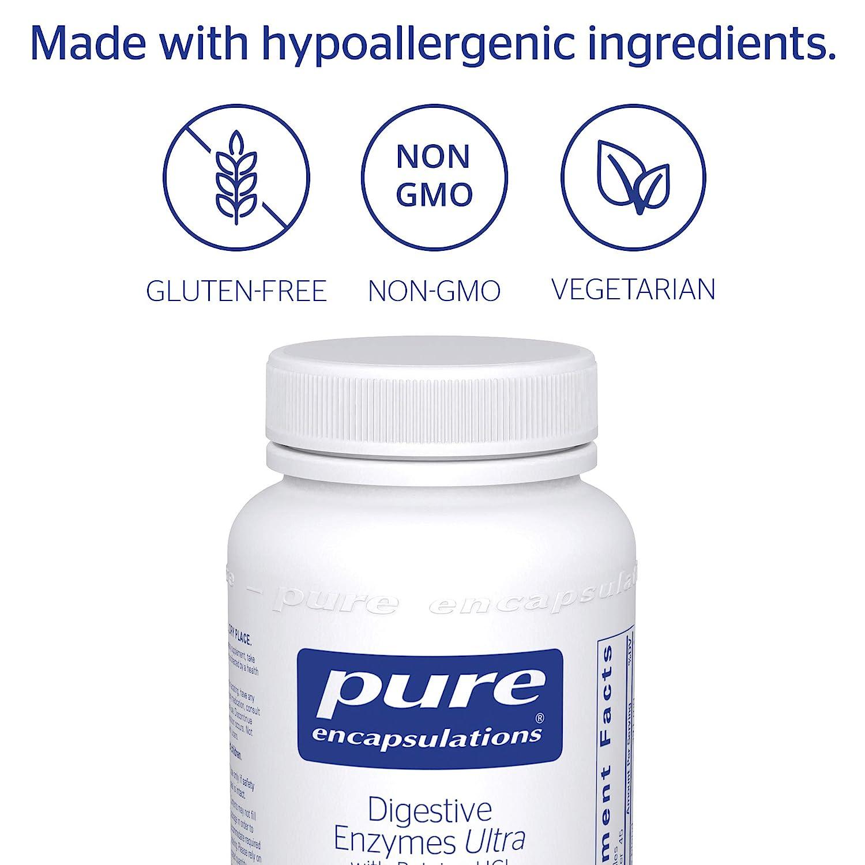 Amazon.com: Pure Encapsulations – Las enzimas digestivas ...