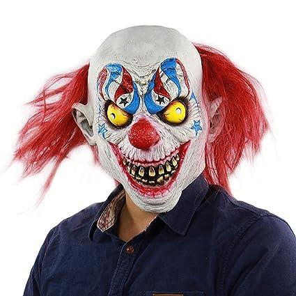 SIUNRIYO Fiesta de Disfraces de Halloween Máscara de Látex Cabeza ...