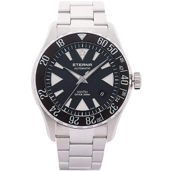 Eterna KonTiki Diver Reloj de Hombre automático 44mm 1290-41-79-1753: Amazon.es: Relojes