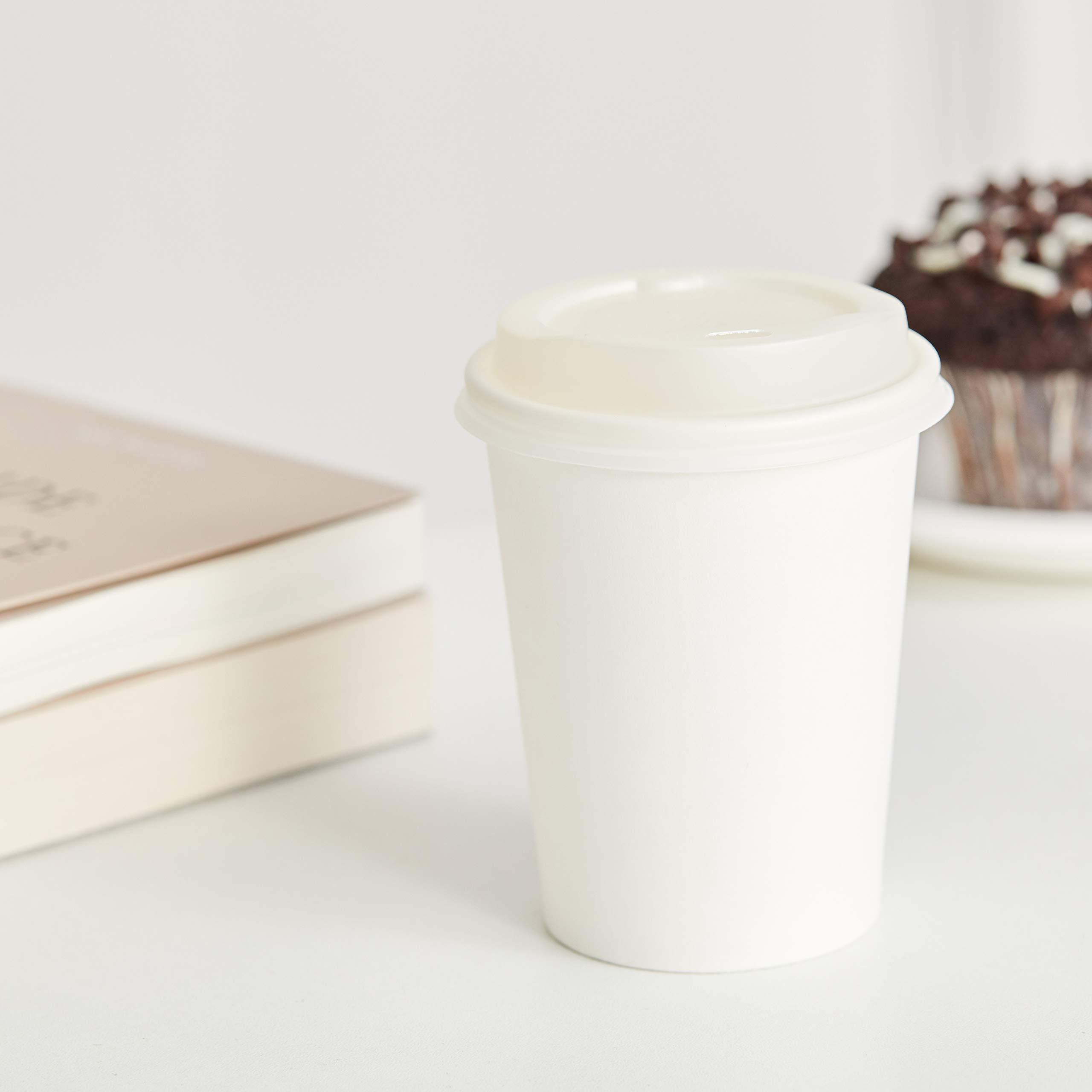 AmazonBasics 8 oz. Compostable PLA Laminated Hot Paper Cup, 1,000-Count by AmazonBasics (Image #2)