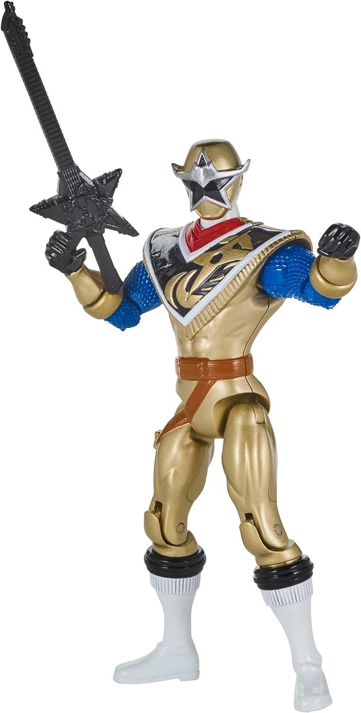 Power Rangers Super Ninja Steel Hero Action Figure, Gold Ranger