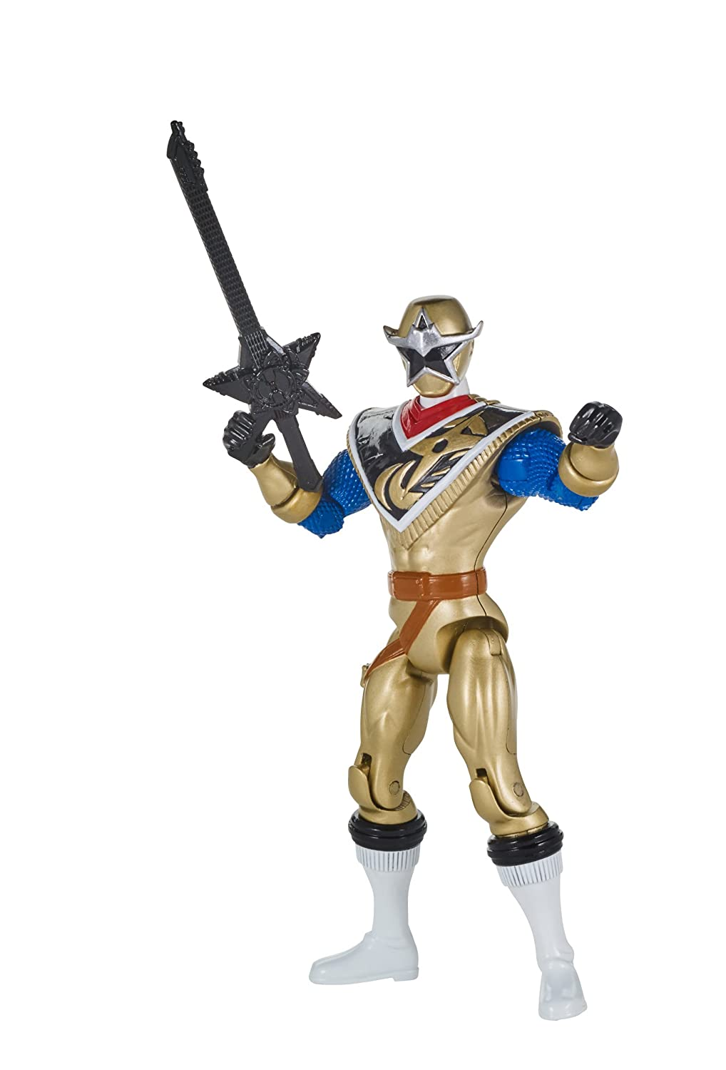 Power Rangers Super Ninja Steel Hero Action Figure, Gold Ranger