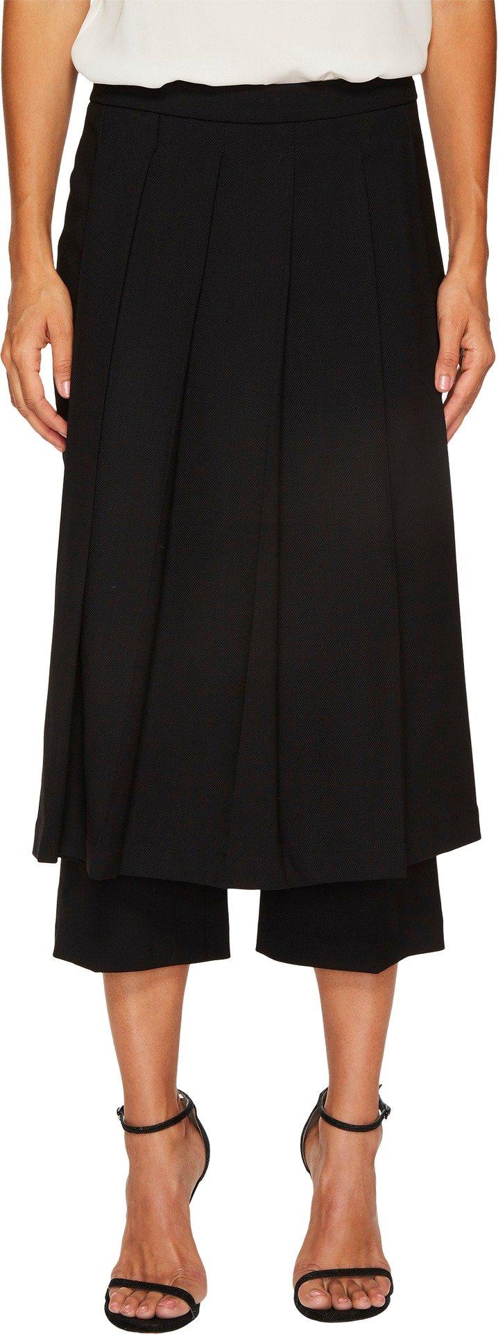 Neil Barrett Women's Fine Tricotine Skirt Pants Black 42